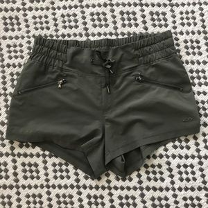 Champion olive green workout shorts size small